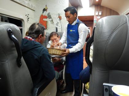 ペルー2014.1マチュピチュ行列車