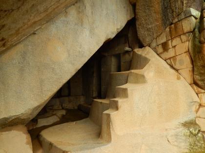 ペルー2014.1マチュピチュ・太陽神殿陵墓