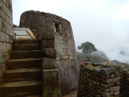 ペルー2014.1マチュピチュ・太陽神殿