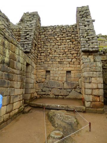 ペルー2014.1マチュピチュ・皇帝の部屋