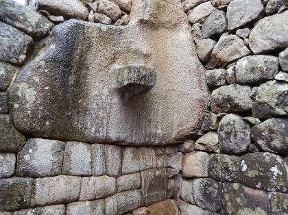 ペルー2014.1マチュピチュ・天体観測突っ張り石