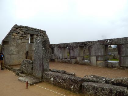 ペルー2014.1マチュピチュ・三つの窓の神殿