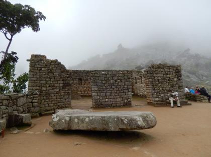 ペルー2014.1マチュピチュ・聖なる広場と神官の館