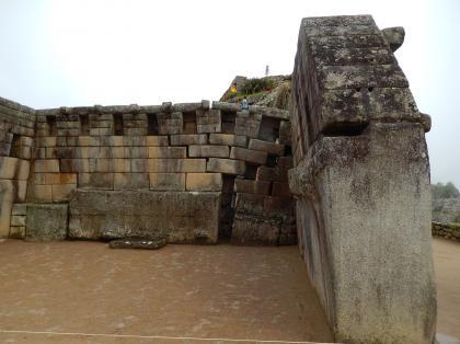 ペルー2014.1マチュピチュ・主神殿