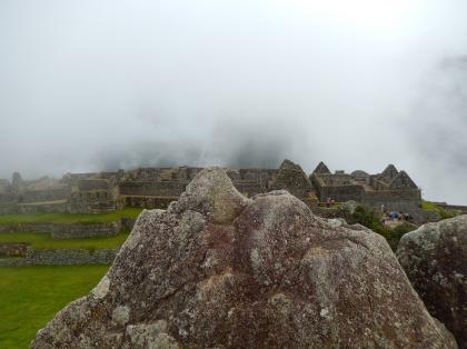 ペルー2014.1マチュピチュ・ワイナピチュの岩