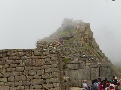 ペルー2014.1マチュピチュ・インティワタナの丘