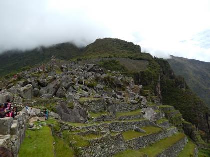 ペルー2014.1マチュピチュ石切り場