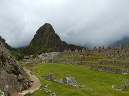 ペルー2014.1マチュピチュ・技術者の館とワイナピチュ