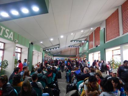 ペルー2014.1マチュピチュ駅