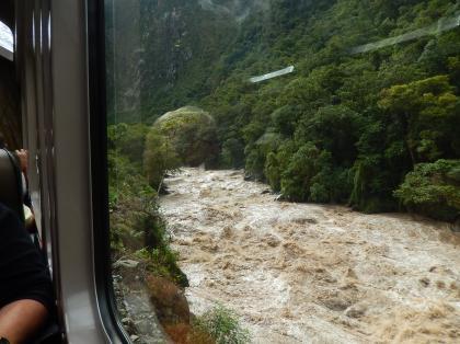 ペルー2014.1ペルーレイル列車