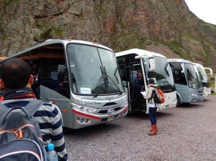 ペルー2014.1ペルーレイル連絡バス