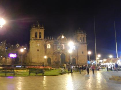 ペルー2014.1クスコ夜景