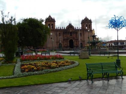 ペルー2014.1クスコ・アルマス広場