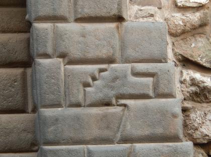 ペルー2014.1クスコ・14角石