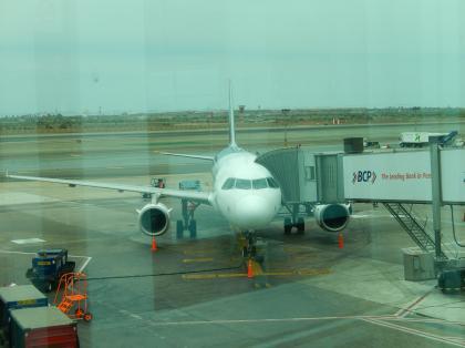 ペルー2014.1リマ空港ラン航空
