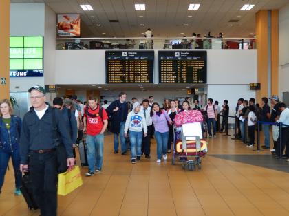 ペルー2014.1リマ空港