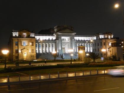 ペルー2014.1リマ・ミラバス夜のツアー