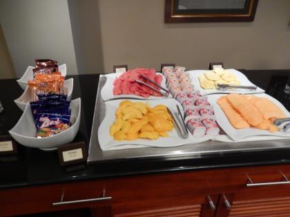 ペルー2014.1リマ・ホテル朝食