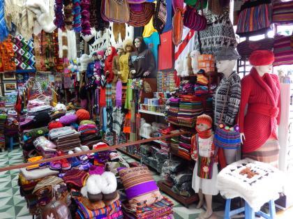 ペルー2014.1リマ・インディアンマーケット