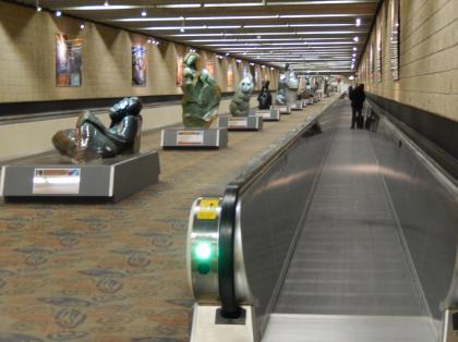 ペルー2014.1アトランタ空港乗り継ぎ