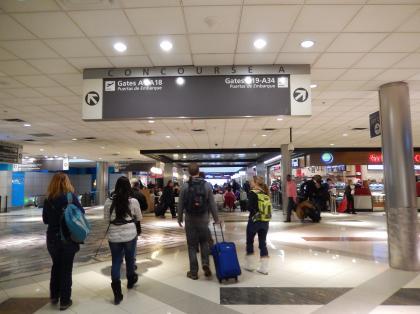 ペルー2014.1アトランタ乗り継ぎ