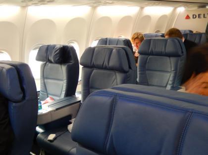 ペルー2014.1デルタ航空1655便ATL発LAX行