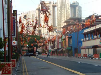 シンガポール2014.2中華街