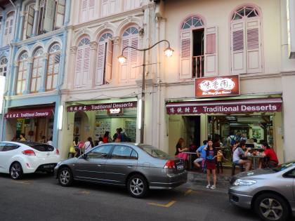 シンガポール2014.2夜の中華街