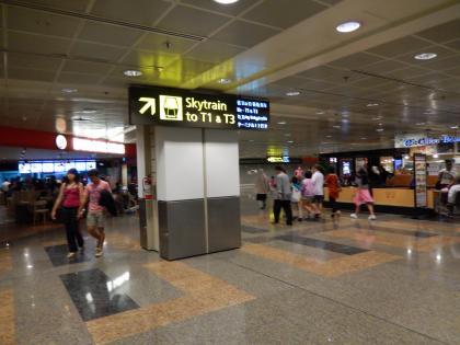 シンガポール2014.2チャンギ空港アクセス