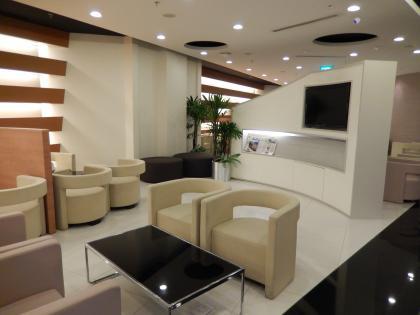 シンガポール2014.2チャンギ空港ラウンジ