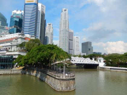 シンガポール2014.5シンガポールリバー