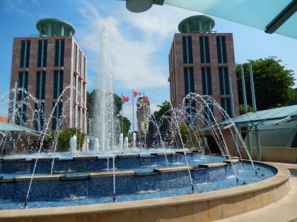 シンガポール2014.5セントーサ島マーライオン