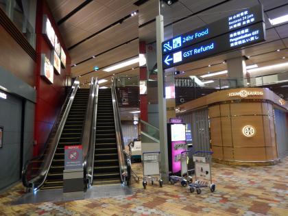 シンガポール2014.5チャンギ空港フードコート
