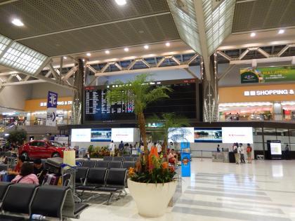 台北2014.7出発・成田空港