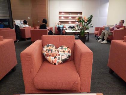 台北2014.7出発・成田空港CIラウンジ