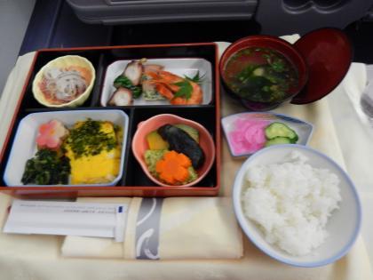 台北2014.7出発・チャイナエアライン台北行き機内食