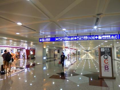 台北2014.7台北桃園空港到着
