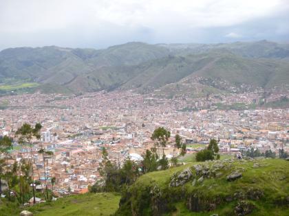 ペルー2014.1クスコ郊外サクサイワマン