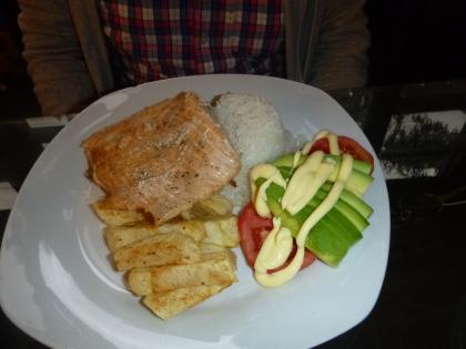 ペルー2014.1オリャンタイタンボレストラン
