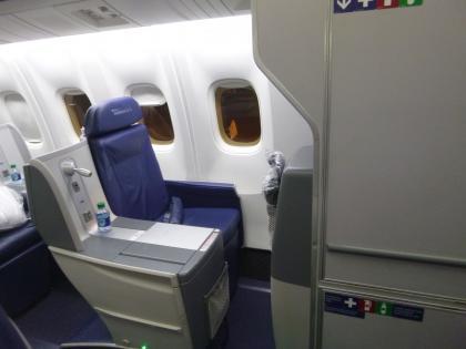 ペルー2014.1デルタ航空150便アトランタ行き