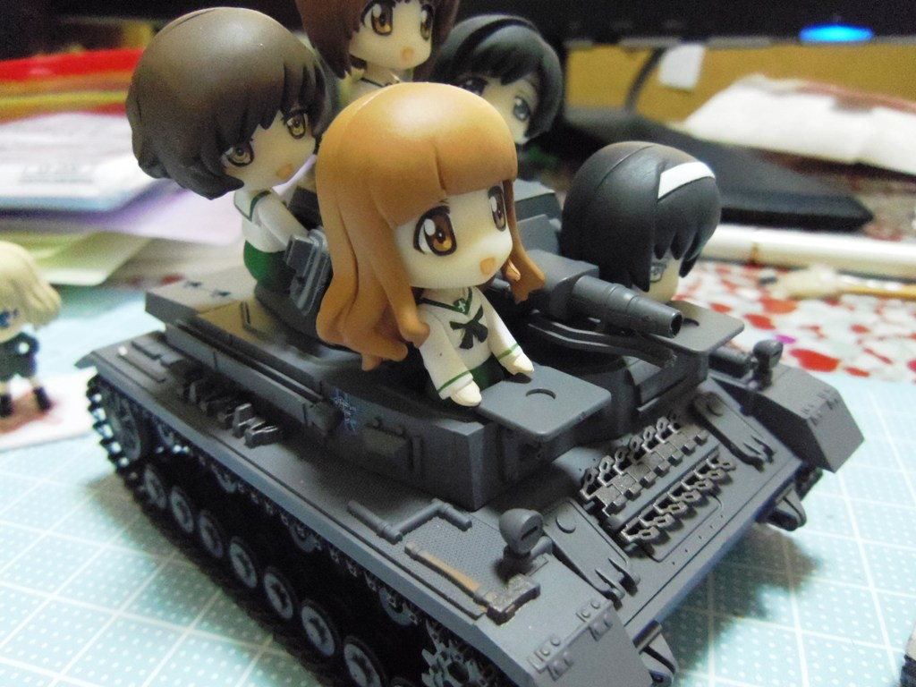 Ⅳ号戦車 D型 配備