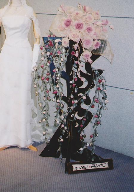 ブログ薔薇の装花2