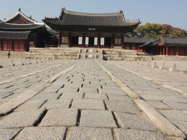2013年11月5日 昌慶宮 建物と石畳