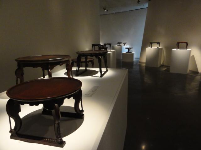 2013年11月15日 湖林博物館 小盤展 展示室の様子
