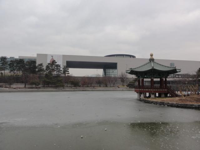 2014年1月24日 国立中央博物館 建物外観