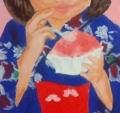 「7歳の夏祭り」塗り17回目(3)
