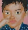 「7歳の夏祭り」塗り19回目(2)