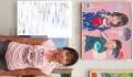 「7歳の夏祭り」展示