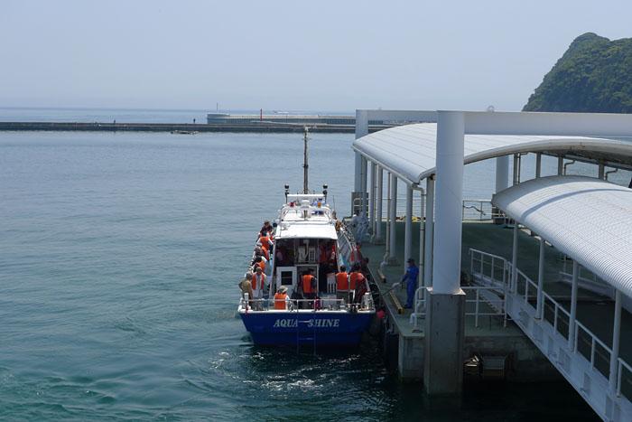 福岡県 大島から神湊へ 2
