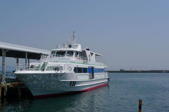福岡県 大島から神湊へ 3